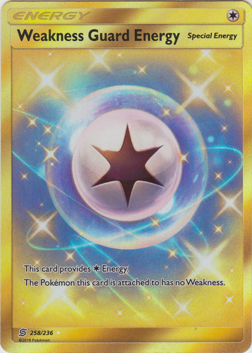 Weakness Guard Energy - 258/236 - Secret Rare