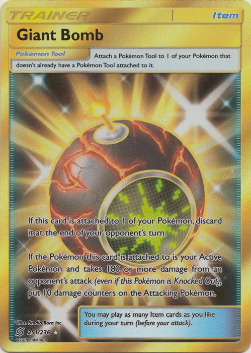 Giant Bomb - 251/236 - Secret Rare