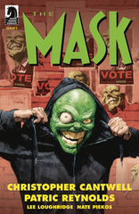 Mask: I Pledge Allegiance To The Mask #1 (Of 4) (Mature Readers) (Cover A - Reynold)