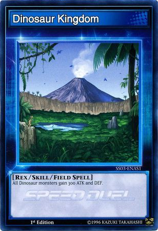 Dinosaur Kingdom - SS03-ENAS1 - Common - 1st Edition