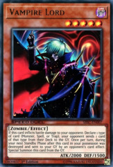 Vampire Lord - SBSC-EN007 - Ultra Rare - 1st Edition