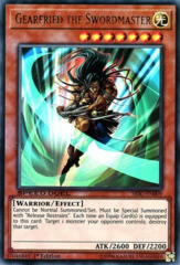 Gearfried the Swordmaster - SBSC-EN009 - Ultra Rare - 1st Edition
