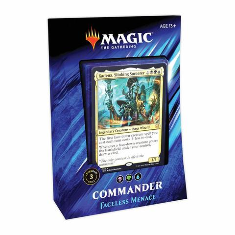 (PREORDER) Commander 2019: Faceless Menace