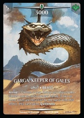 Garga, Keeper of Gales (Full Art)