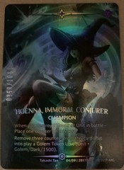 Hoenna, Immoral Conjurer (Serial Numbered)