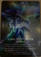Jemial, Cryptic Caster (Serial Numbered)