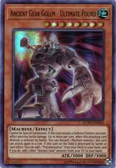 Ancient Gear Golem - Ultimate Pound - DUPO-EN054 - Ultra Rare - Unlimited Edition on Channel Fireball