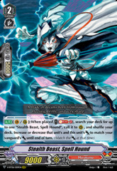 Stealth Beast, Spell Hound - V-BT06/009EN - RRR