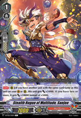 Stealth Rogue of Multitude, Sanjee - V-BT06/058EN - C