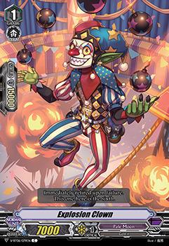 Explosion Clown - V-BT06/079EN - C