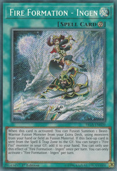 Fire Formation - Ingen - FIGA-EN020 - Secret Rare - 1st Edition