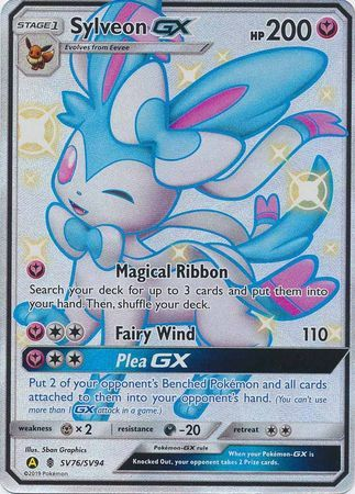 Sylveon GX - SV76/SV94 - Full Art Ultra Rare
