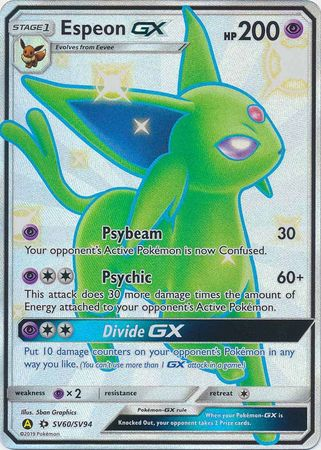Espeon GX - SV60/SV94 - Full Art Ultra Rare