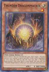 Thunder Dragonmatrix - MP19-EN166 - Common - 1st Edition