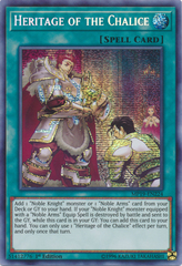 Heritage of the Chalice - MP19-EN224 - Prismatic Secret Rare - 1st Edition