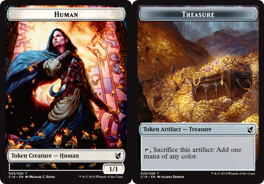 Human Token // Treasure Token