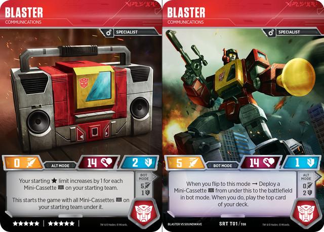 Blaster // Communications