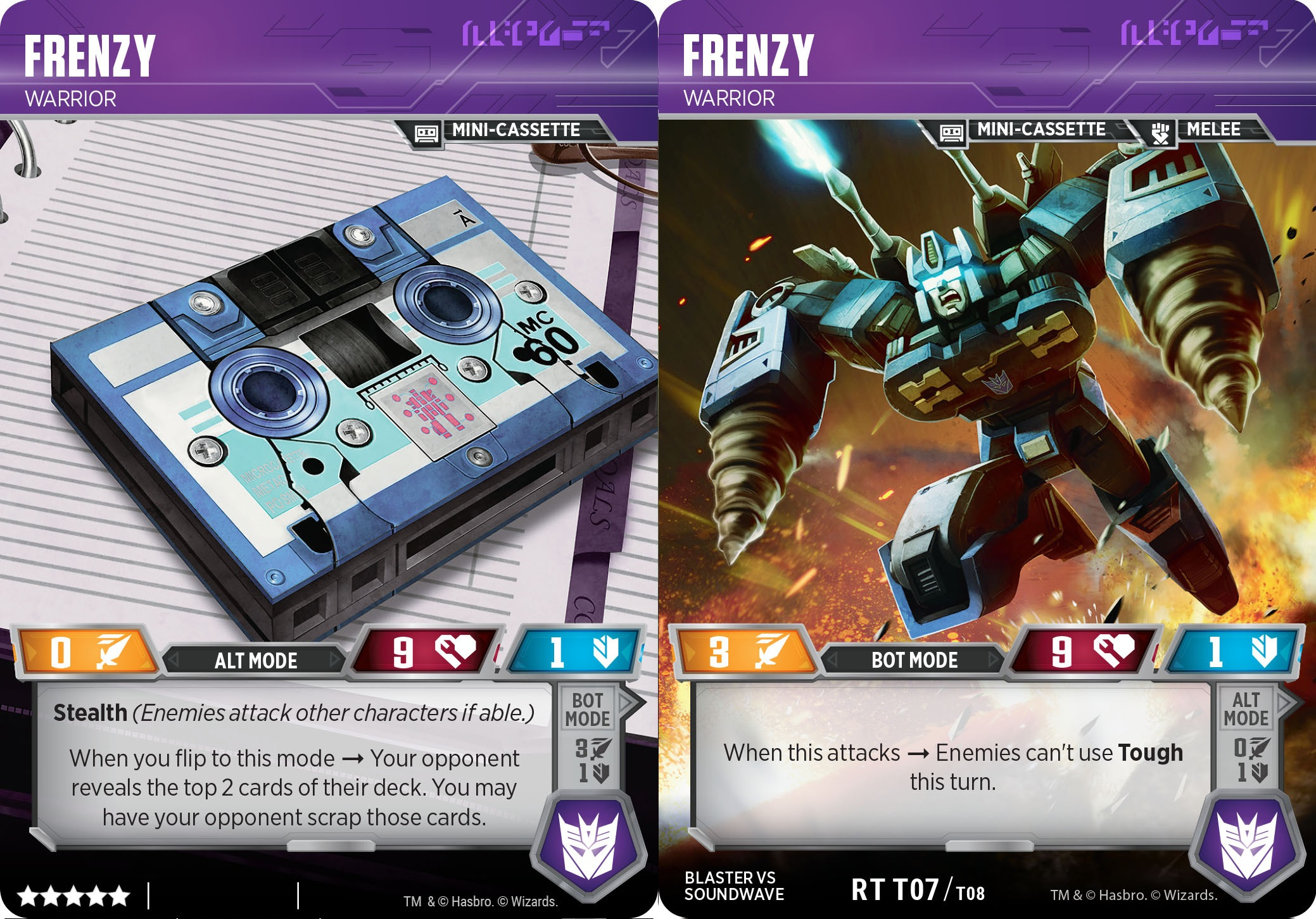 Frenzy // Warrior
