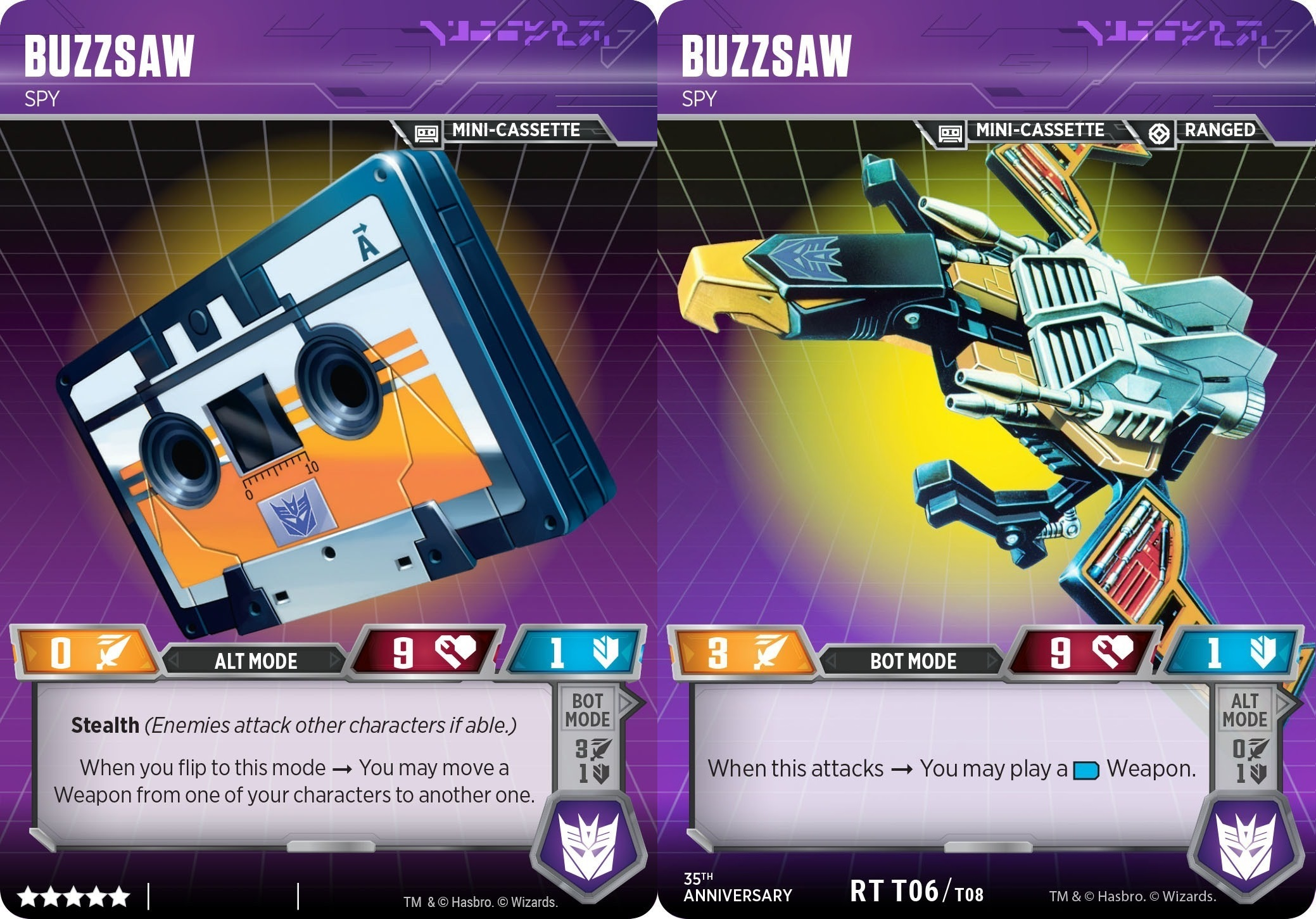 Buzzsaw // Spy (35th Anniversary)