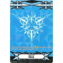 ▽ Imaginary Gift Marker [Force] Original (Metallic Blue) - V-GM/0106EN (FOIL) [V-BT05]