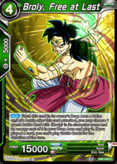 Broly, Free at Last - DB1-052 - C - Foil on Channel Fireball