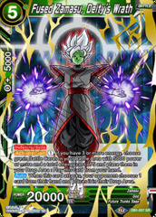 Fused Zamasu, Deity's Wrath - DB1-057 - SR