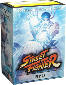Dragon Shield Sleeves: Art Classic - Street Fighter: Ryu (Box of 100)