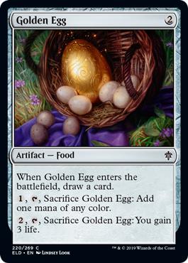 Golden Egg - Foil
