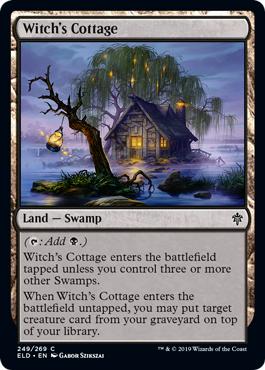 Witchs Cottage - Foil