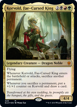 Korvold, Fae-Cursed King - Foil - Brawl Deck Exclusive