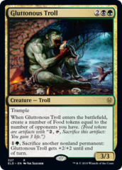 Gluttonous Troll - Brawl Deck Card