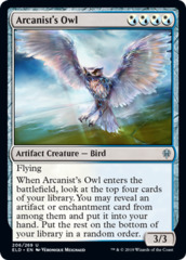 Arcanist's Owl on Channel Fireball