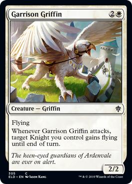 Garrison Griffin - Planeswalker Deck Exclusive