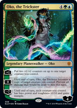 Oko, the Trickster - Foil Planeswalker Deck Exclusive