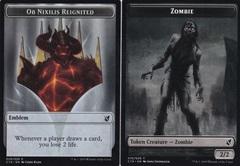 Ob Nixilis Emblem (029) // Zombie Token (010)