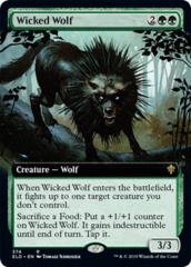 Wicked Wolf - Foil - Extended Art