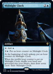 Midnight Clock - Foil - Extended Art