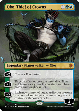 Oko, Thief of Crowns - Borderless