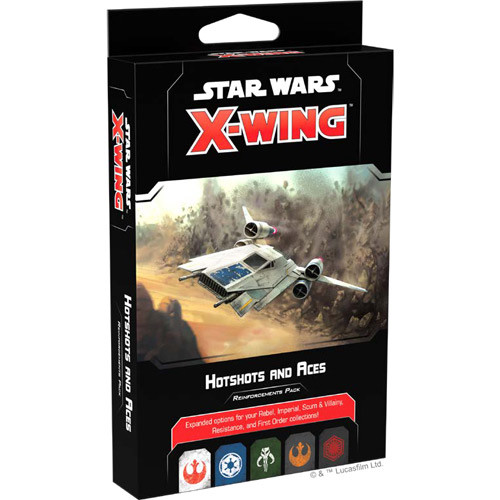 Star Wars X-Wing - 2nd Edition - Hotshots and Aces Reinforcements Pack