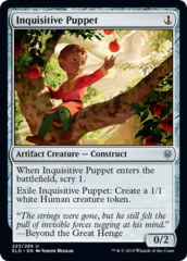 Inquisitive Puppet - Foil