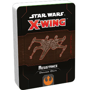 Star Wars X-Wing - 2nd Edition - Resistance Damage Deck