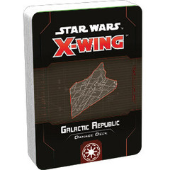 Star Wars X-Wing - 2nd Edition - Galactic Republic Damage Deck