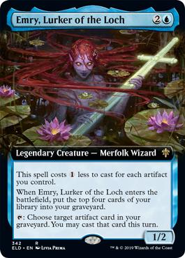 Emry, Lurker of the Loch (Extended Art)