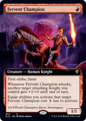 Fervent Champion - Extended Art