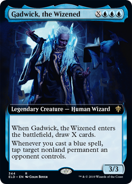 Gadwick, the Wizened - Extended Art
