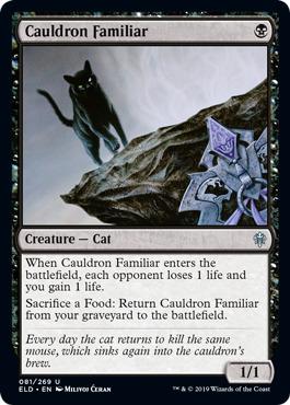 Cauldron Familiar - Foil
