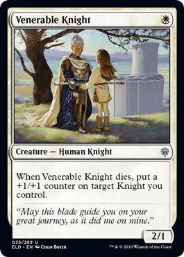 Venerable Knight - Foil