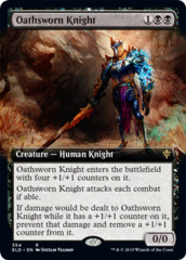 Oathsworn Knight - Extended Art