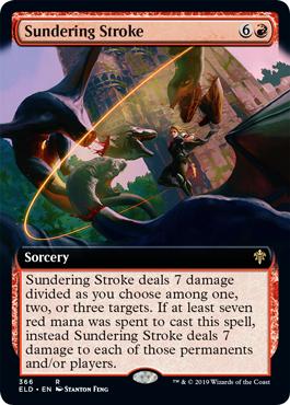 Sundering Stroke - Foil - Extended Art