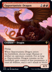 Opportunistic Dragon - Extended Art